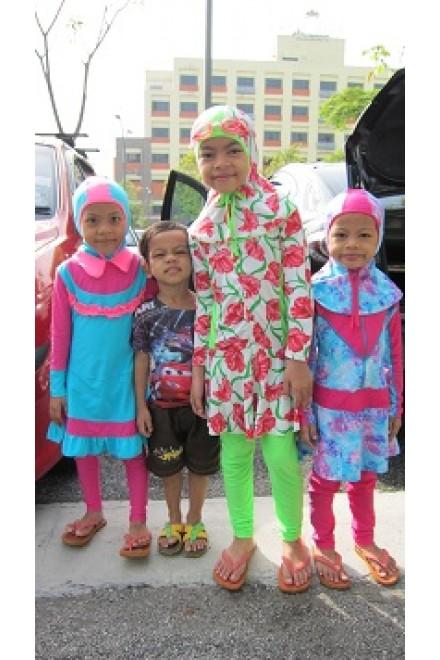 Testimoni customer Moonaz Swimming Baju Renang Muslimah 2012-2