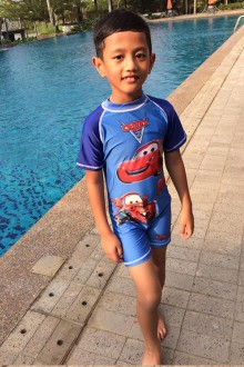 Kids Swimwear 1P-CR (Car Race)