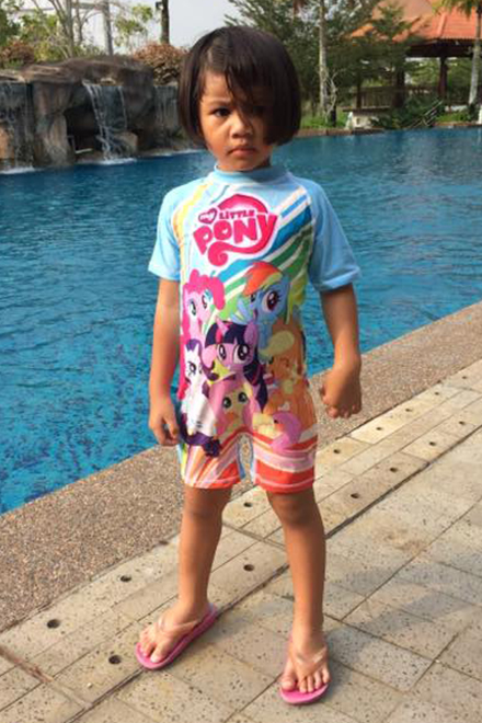 Kids Swimwear 1P-LP (Little Ponny)