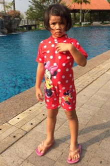 Kids Swimwear 1P-MM (Minnie Mouse)