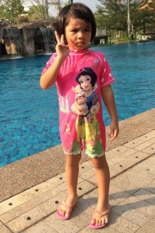 Kids Swimwear 1P-SW (Snow White)