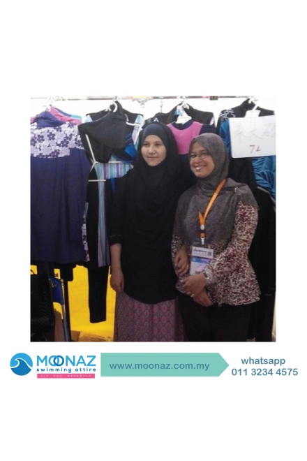 Testimoni customer Moonaz Swimming Baju Renang Muslimah 2014-2