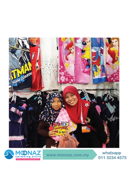 Testimoni customer Moonaz Swimming Baju Renang Muslimah 2014-4