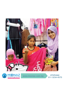 Testimoni customer Moonaz Swimming Baju Renang Muslimah 2014-8