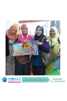 Testimoni customer Moonaz Swimming Baju Renang Muslimah 2014-9