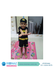 Testimoni customer Moonaz Swimming Baju Renang Muslimah 2014-10