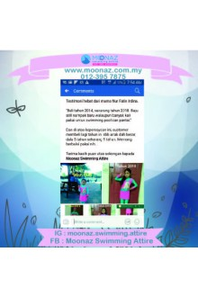 Testimoni customer Moonaz Swimming Baju Renang Muslimah 2017-4
