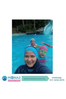 Testimoni customer Moonaz Swimming Baju Renang Muslimah 2013-8