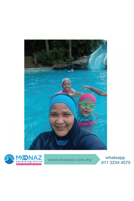 Testimoni customer Moonaz Swimming Baju Renang Muslimah 2013-8