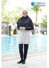 Baju Renang Muslimah - SB 409 (  FLOWER)
