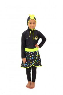 Baju Renang Anak - HNK - 08 Baju Renang Anak Muslimah Omar Hana(Include swimsuit bag Omarhana)