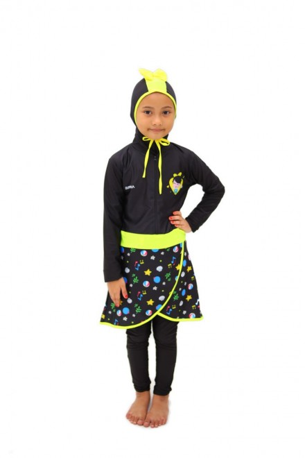 Baju Renang Anak - HNK - 08 Baju Renang Anak Muslimah Omar Hana(Y.E.S SALE not include swimsuit bag)
