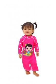 Baju Renang Anak HNT-04 - Kids Swimwear Character Hana Toddler (Include swimsuit bag Omarhana)