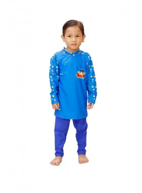 Baju Renang Anak - OMT-06 Baju Renang Muslim Omar 2 Piece (Y.E.S SALE not include swimsuit bag)