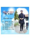 Baju Renang Muslimah - SB 01 (Plain purple black)
