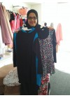 Baju Renang Muslimah - SB 03 ( PLAIN BLUE BLACK)