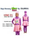 Baju Renang Anak - 2PK 301 Baju Renang (Plain Peach green Techoishe)