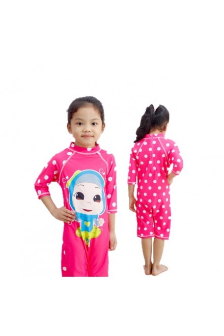 Baju Renang Anak HNT-001 - Kids Swimwear Character Hana Toddler(Y.E.S SALE not include swimsuit bag)