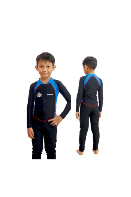 Baju Renang Anak - OMK-01 Baju Renang Muslim Omar Hana with swimsuit bag
