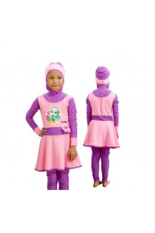 Baju Renang Anak - HNK - 02 Baju Renang Anak Muslimah Omar Hana (Include swimsuit bag Omarhana)