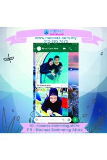 Testimoni customer Moonaz Swimming Baju Renang Muslimah 2018-13