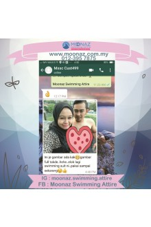 Testimoni customer Moonaz Swimming Baju Renang Muslimah 2018-4
