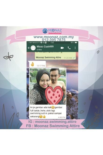 Testimoni customer Moonaz Swimming Baju Renang Muslimah 2018-4