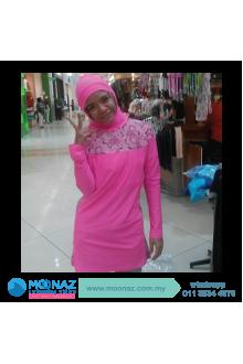 Testimoni customer Moonaz Swimming Baju Renang Muslimah 2015-4