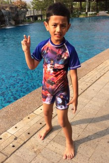 Kids Swimwear 1P-BH (Big Heroes)