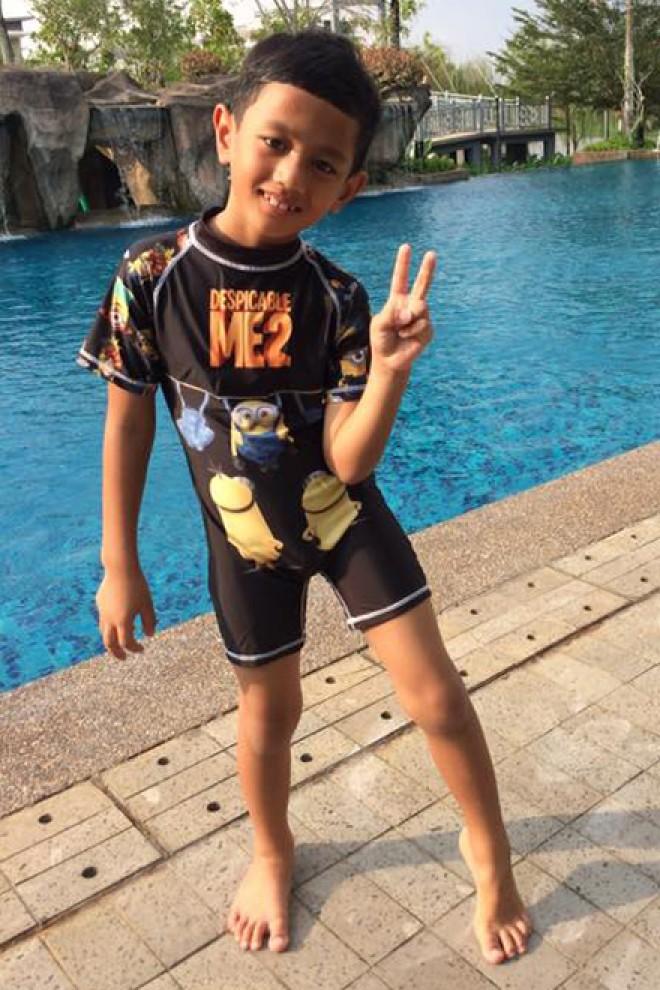 e50574bab1 Kids Swimwear 1P-MN (Black Minion)