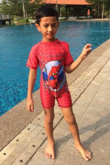 Kids Swimwear 1P-SP (Spiderman)