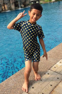 Kids Swimwear 1P-ST (Stars)-OUT OF STOCK-