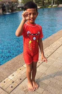 Kids Swimwear 1P-TF (Transformers)