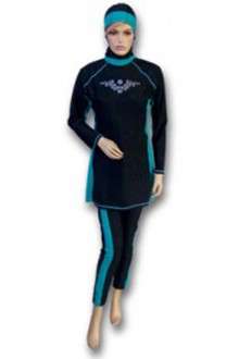 Baju Renang Muslimah - MS10 (Royal Turquise)-OUT OF STOCK-