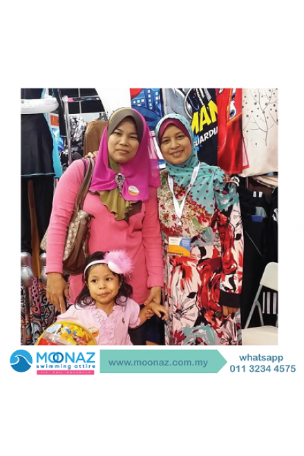Testimoni customer Moonaz Swimming Baju Renang Muslimah 2014-5