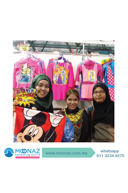 Testimoni customer Moonaz Swimming Baju Renang Muslimah 2014-7