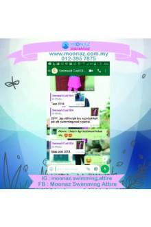 Testimoni customer Moonaz Swimming Baju Renang Muslimah 2017-6